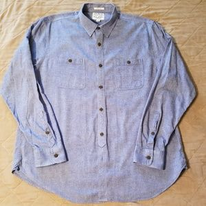 Lucky Brand Men's Blue Shirt (Light Wash)